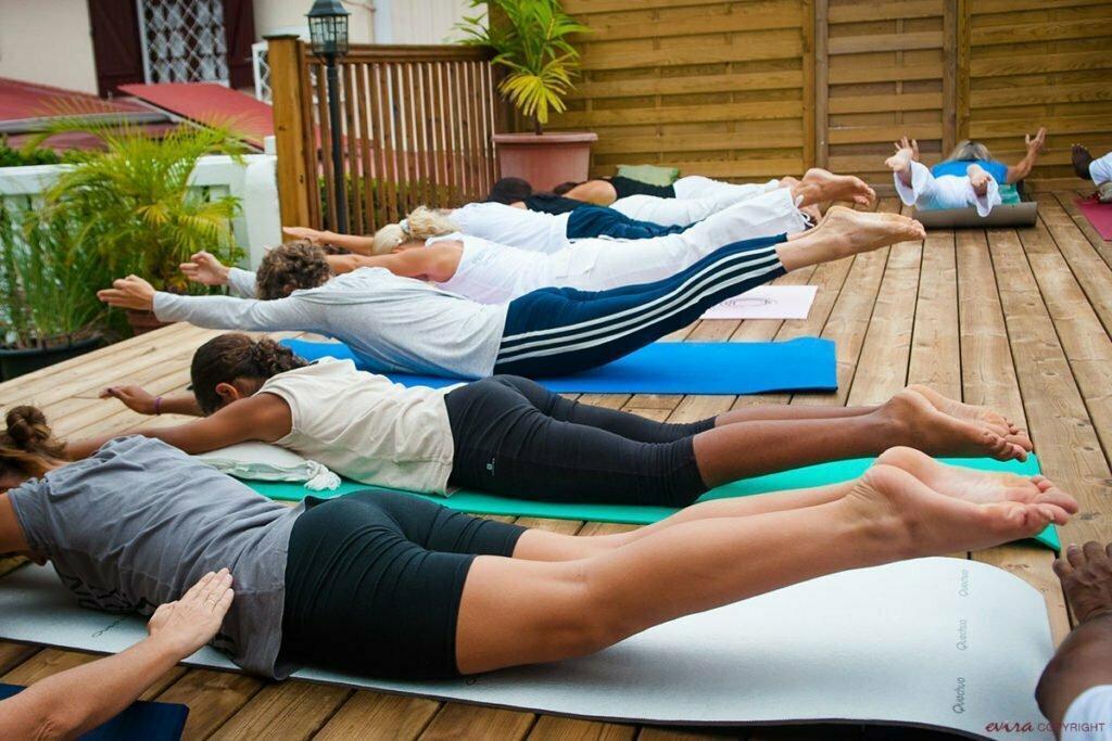 Outdoor-Yoga-Sitzungen